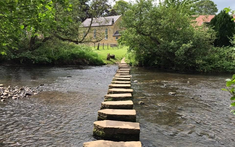 Lealholm Stepping Stones