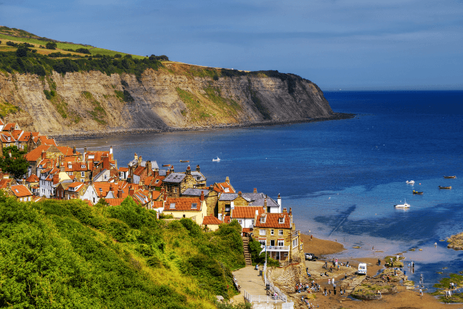 Image of Robin Hood's Bay on the Yorkshire Coast