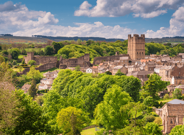 Image of Richmond in the Yorkshire Dales