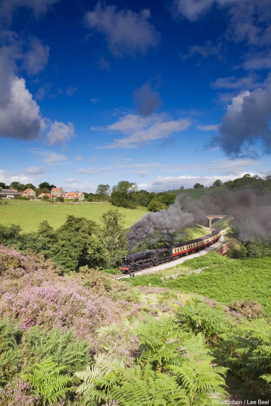 Take a trip on the North York Moors Railway