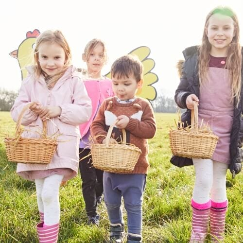 Join the Easter Egg hunt fun at Piglets Adventure Farm