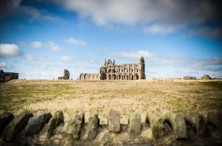 This is an image of Whitby Abbey