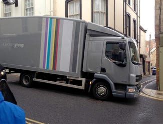 This is an image of a lorry