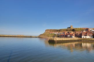 Tate Hill Pier in Whitby