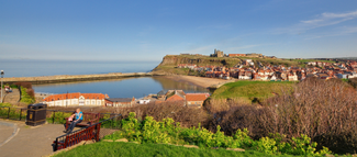 Whitby and its piers