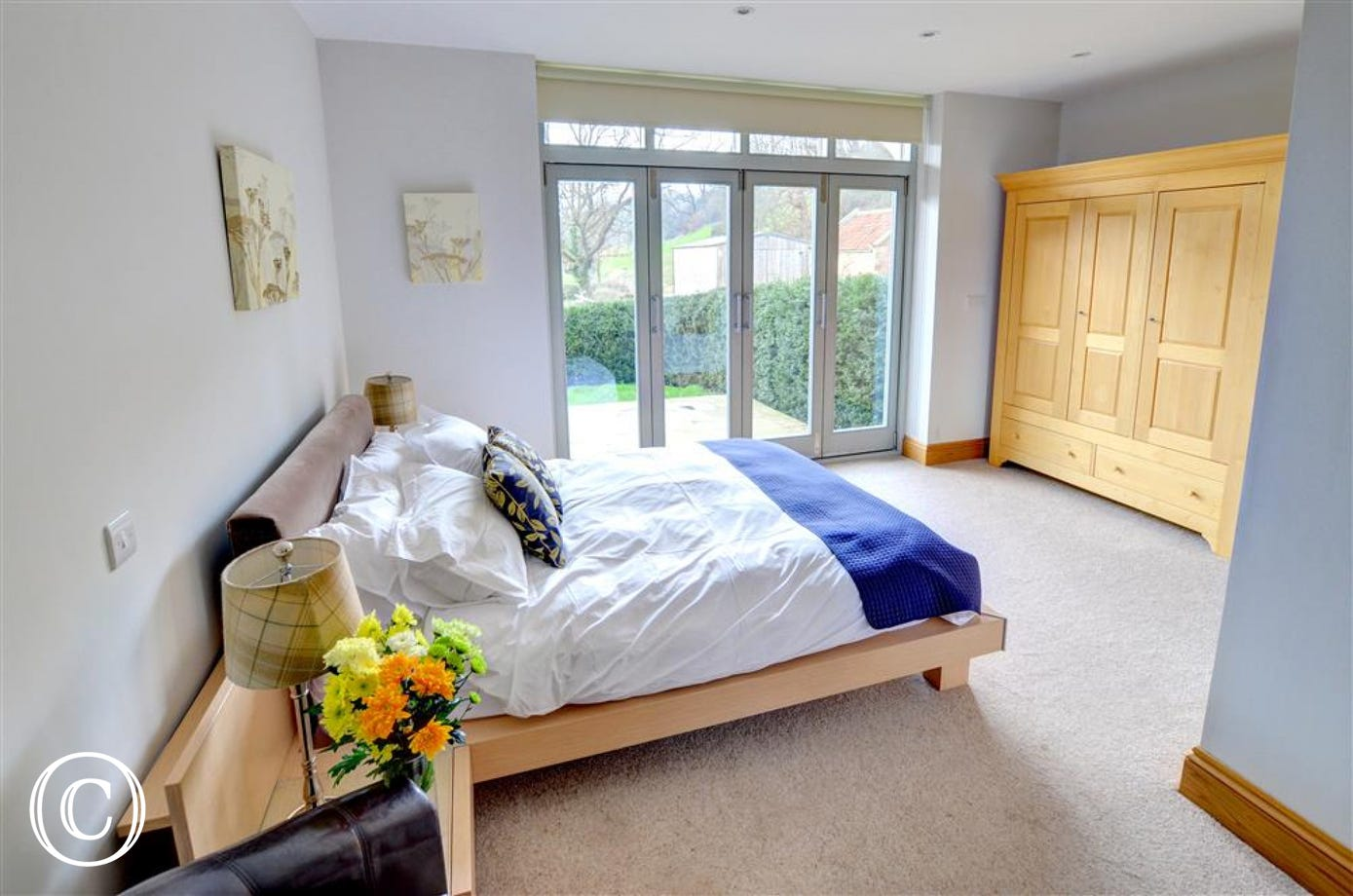 Bedroom is spacious and has large wardrobe and an en-suite.