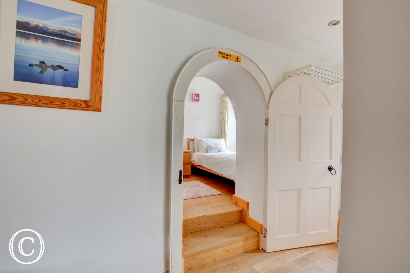 Feature arched doorway