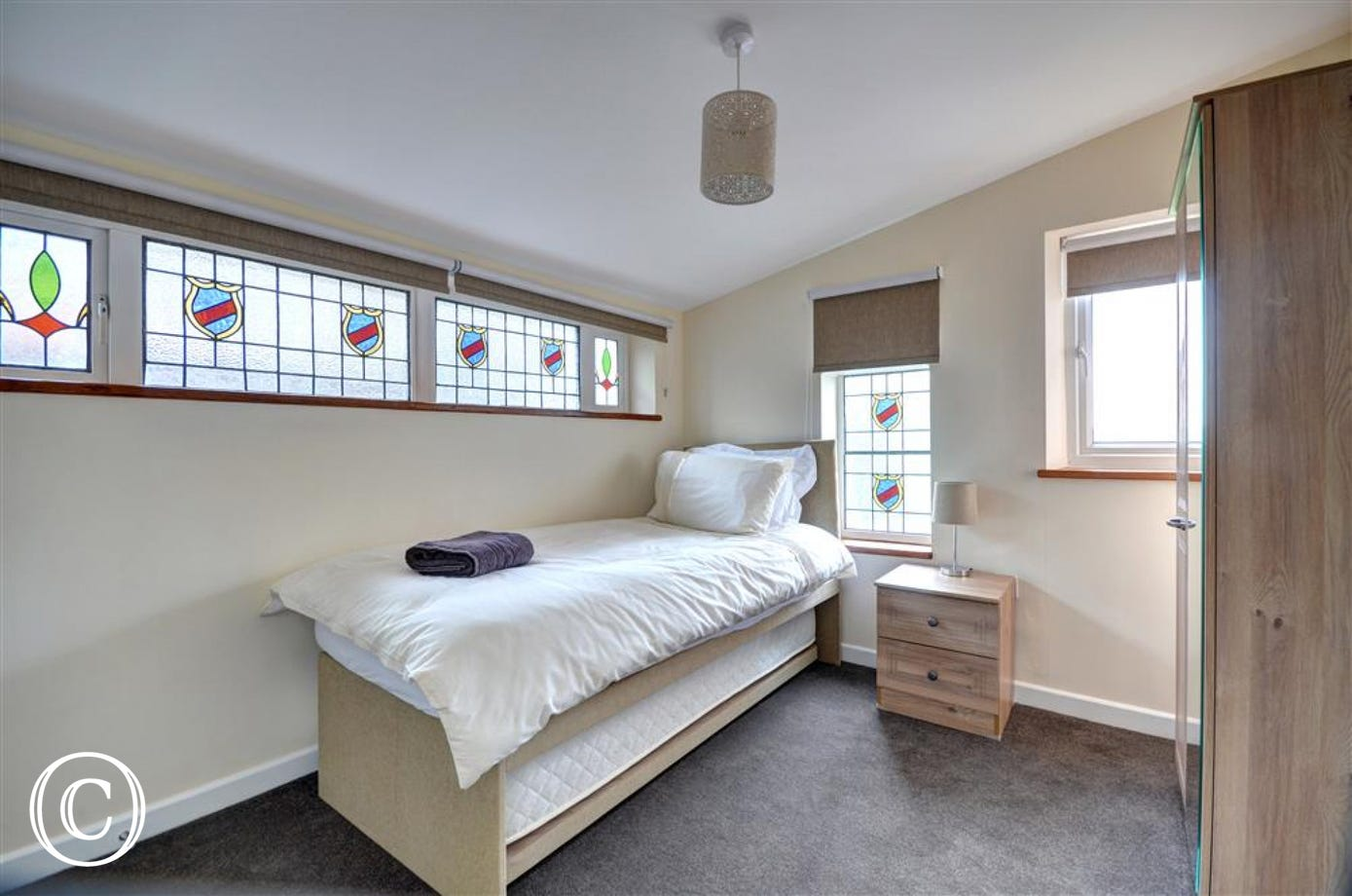 Bedroom 3 is suitable for people with mobility problems