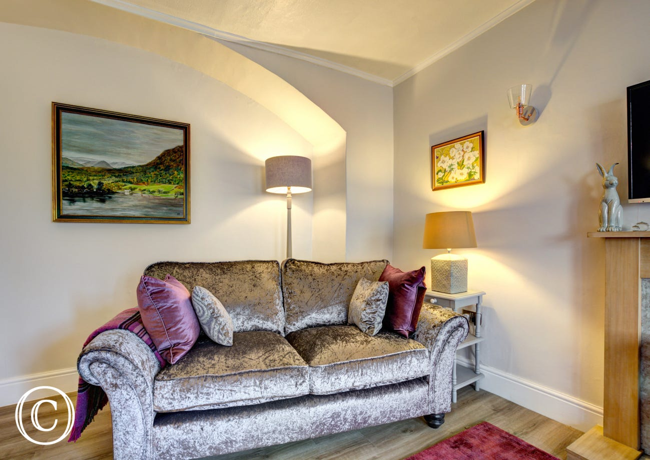 Lovely sofa's in Holme Cottage