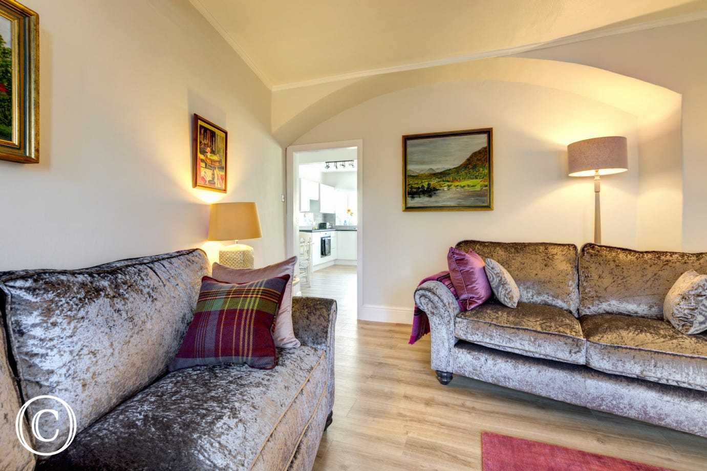 Lounge at Holme Cottage