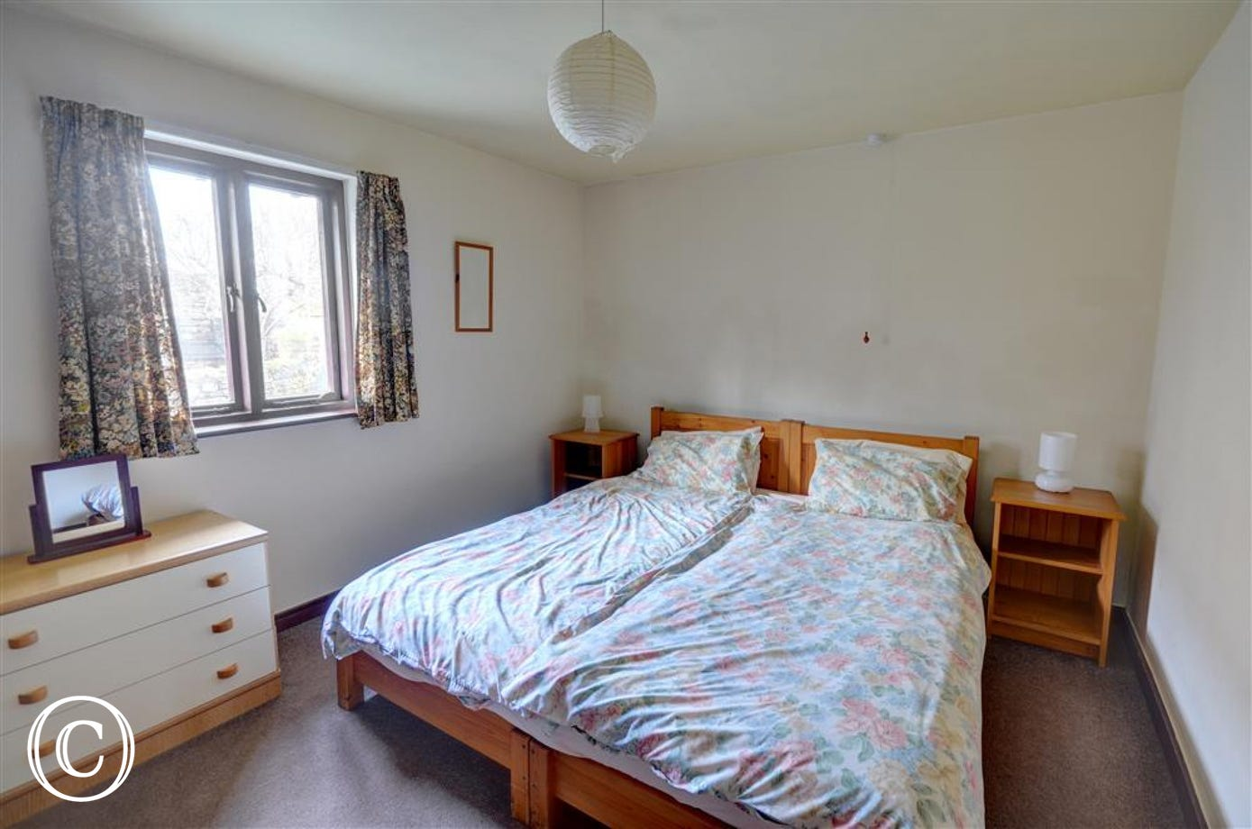 Double bedrooms, can be two singles