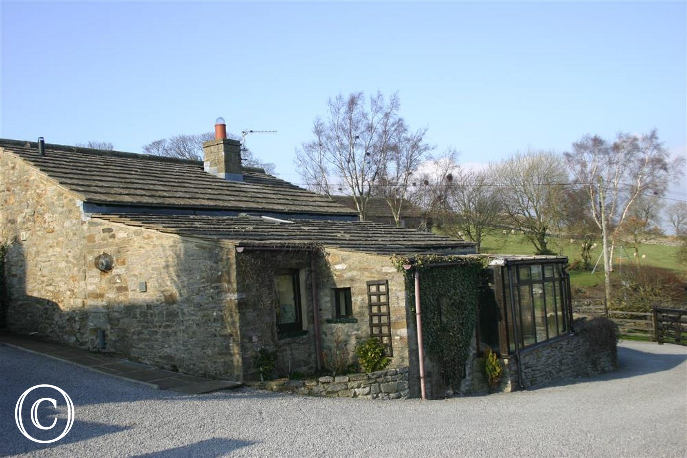 Exterior view of Field Cottage
