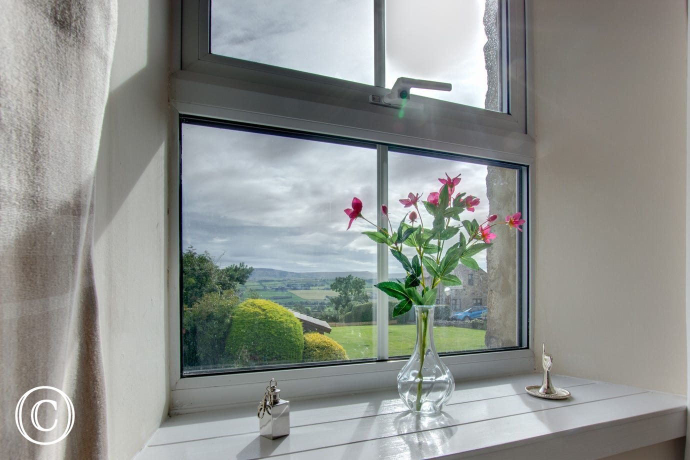 Stunning views through the windows
