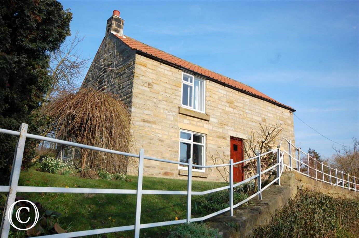 Exterior view of Rockley Cottage in Egton.