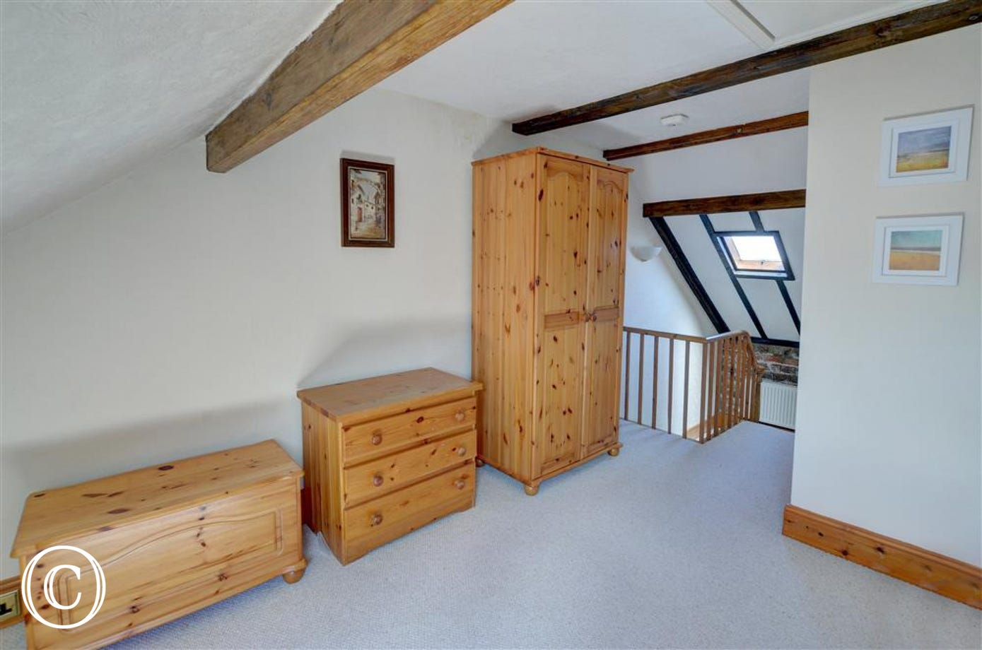 Bedroom 3 has an open staircase,