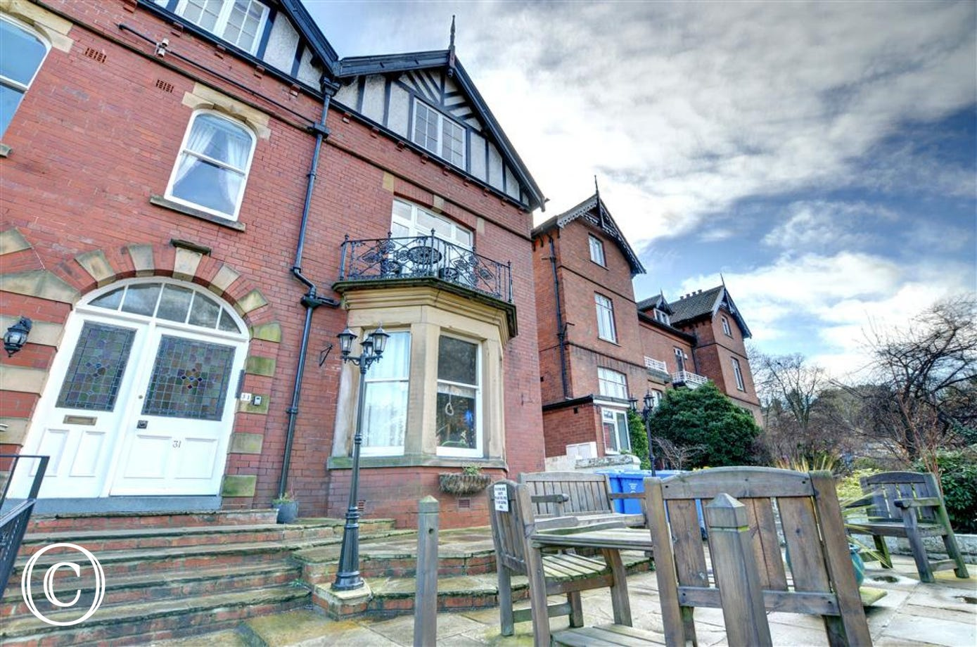 First floor flat in a central Whitby location.