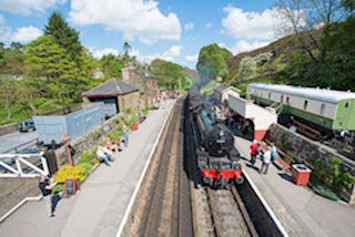 This is an image of North Yorkshire Moors Railway