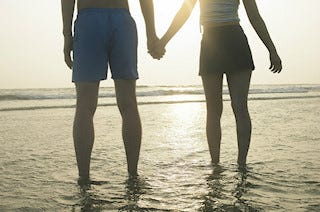 Image of couple at beach