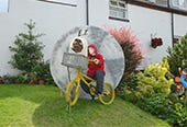 This is an image of Muston Scarecrow Festival