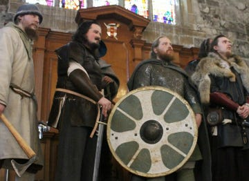 Vikings at the Jorvik Viking Festival