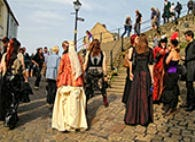 This is an image of Whitby Goth Festival