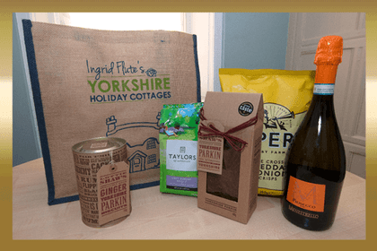 January - Ingrid Flute's Yorkshire Holiday Cottages Luxury Hamper