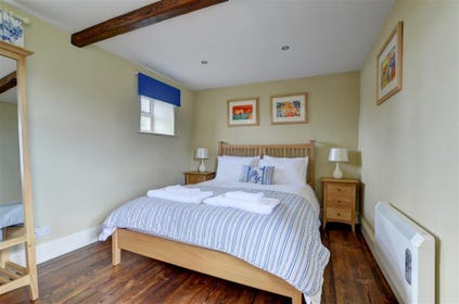 Bedroom is spacious, light and well presented.
