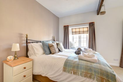 Snuggle up in the lovely, cosy bed after a day exploring the Dales.