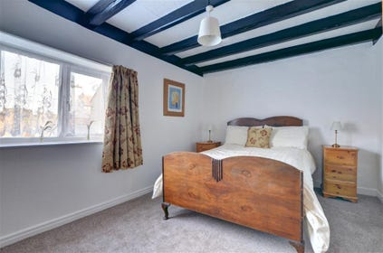 Bedroom 1 has a double bed and a wardrobe. Good size double bedroom is situated on the first floor.