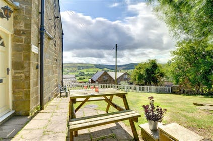 Bransdale Cottage 2 adjoins Cottage 1 and shares a spacious garden.